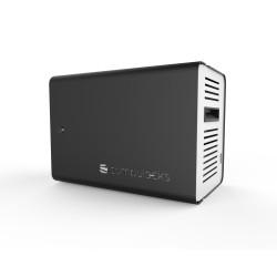 Compulocks - ChargeBox Independiente Aluminio Negro