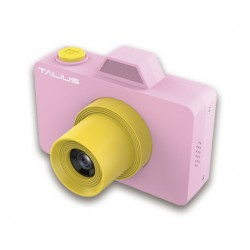 TALIUS - Camara digital Pico kids 18MP 720P 32GB pink