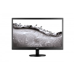 "AOC - Basic-line E2070SWN LED display 49,5 cm (19.5"") 1600 x 900 Pixeles Negro"