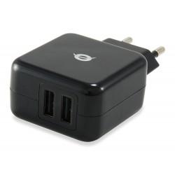 Conceptronic - CUSBPWR2A cargador de dispositivo móvil Interior Negro