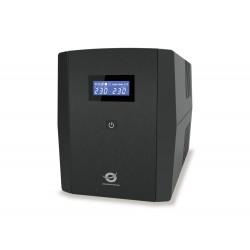 Conceptronic - ZEUS03EM sistema de alimentación ininterrumpida (UPS) Línea interactiva 1200 VA 720 W 5 salidas AC