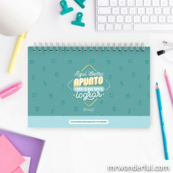 Mr. Wonderful - WOA10280ES planificador