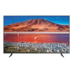 "Samsung - UE43TU7105KXXC Televisor 109,2 cm (43"") 4K Ultra HD Smart TV Wifi Carbono, Gris, Plata"