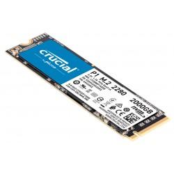 Crucial - P1 M.2 2000 GB PCI Express 3.0 3D NAND NVMe