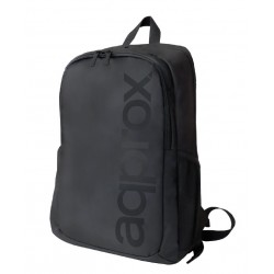 Approx - appBP301 mochila Negro De plástico, Poliéster, Poliuretano