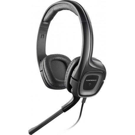 Plantronics - .Audio 355 Multimedia Headset Binaural Diadema Negro auricular con micrófono