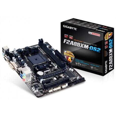 Gigabyte - GA-F2A88XM-DS2 AMD A88X Socket FM2+ Micro ATX placa base