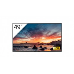"Sony - FWD-49X80H/T pantalla de señalización Pantalla plana para señalización digital 123,2 cm (48.5"") IPS 4K Ultra HD Negro Pro"