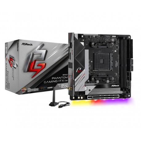 Asrock - B550 Phantom Gaming-ITX/a Zcalo AM4 Mini ITX AMD B550