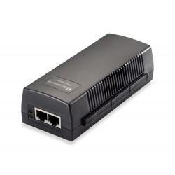 LevelOne - POI-3010 adaptador e inyector de PoE Ethernet rápido, Gigabit Ethernet 52 V