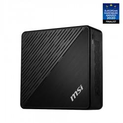 MSI - Cubi 5 10M-045EU Intel® Core™ i5 de 10ma Generación i5-10210U 8 GB DDR4-SDRAM 256 GB SSD Mini PC Negro Windows 10 Home