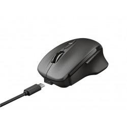 Trust - Themo ratón RF inalámbrico Óptico 1600 DPI mano derecha