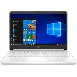 "HP - 14s-dq1002ns Portátil Blanco 35,6 cm (14"") 1920 x 1080 Pixeles Intel® Core™ i3 de 10ma Generación 4 GB DDR4-SDRAM 128 GB SS"