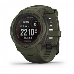 Garmin - Instinct Solar Tactical Edition MIP Verde GPS (satélite)