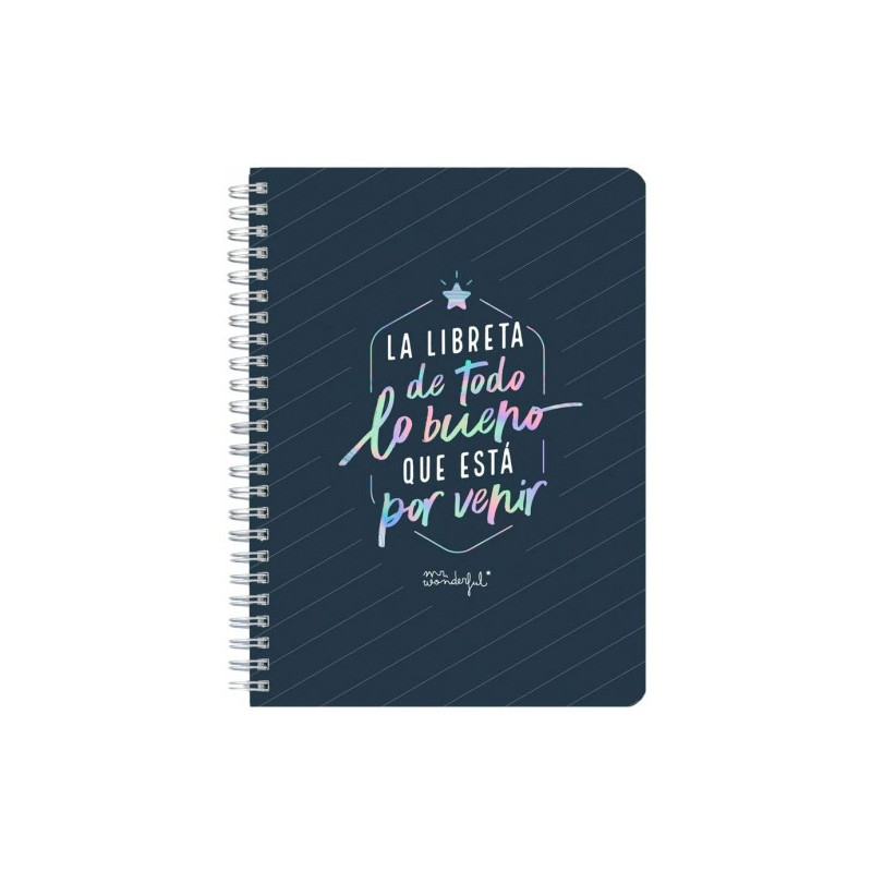 Mr. Wonderful - LIBRETA PEQUEÑA -