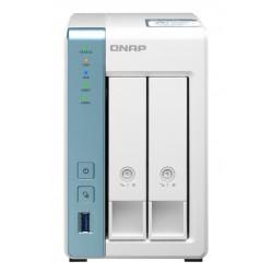 QNAP - TS-231P3 AL314 Ethernet Tower Blanco NAS