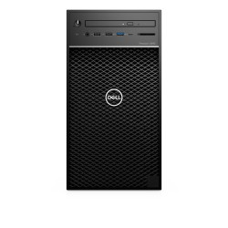 DELL - Precision 3640 W-1270P Torre Intel® Xeon® W 16 GB DDR4-SDRAM 512 GB SSD Windows 10 Pro Puesto de trabajo Negro