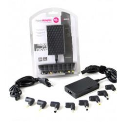 B-Move - BM-AD06 Negro adaptador de enchufe eléctrico