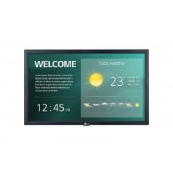 "LG - 22SM3G-B pantalla de señalización 54,6 cm (21.5"") IPS Full HD Pantalla plana para señalización digital Negro Procesador inc"