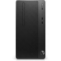 HP - 290 G4 i3-10100 Micro Tower Intel® Core™ i3 de 10ma Generación 8 GB DDR4-SDRAM 256 GB SSD Windows 10 Pro PC Negro