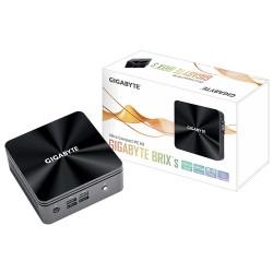 Gigabyte - Gigabyte GB-BRI3H-10110, Mini PC barebone, M.2, PCI Express, SATA, UHD Graphics, Ethernet, Wi-Fi 5 (802.11ac), 90 W