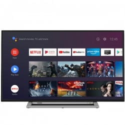 "Toshiba - 43UA3A63DG Televisor 109,2 cm (43"") 4K Ultra HD Smart TV Wifi Negro, Gris"