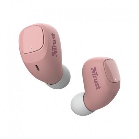 Trust - Nika Compact Auriculares Dentro de odo Rosa