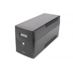 Digitus - DN-170075 sistema de alimentación ininterrumpida (UPS) Línea interactiva 1500 VA 900 W 4 salidas AC