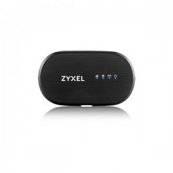 Zyxel - WAH7601 router inalámbrico Banda única (2,4 GHz) 3G 4G Negro