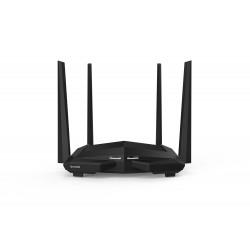 Tenda - AC10 router inalámbrico Doble banda (2,4 GHz / 5 GHz) Gigabit Ethernet Negro