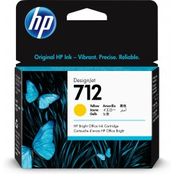 HP - 712 Original Amarillo 1 pieza(s)