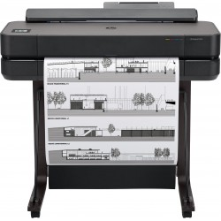 HP - Designjet T650 24-in impresora de gran formato Wifi Inyección de tinta térmica Color 2400 x 1200 DPI Ethernet