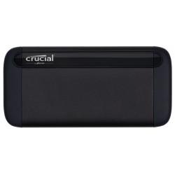 Crucial - X8 2000 GB Negro