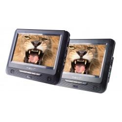 """Nevir - NVR-2776DVD-PDCU reproductor de dvd/bluray portátiles Reproductor de DVD portátil Montado en pared Negro 22,9 cm (9"""") 80"""