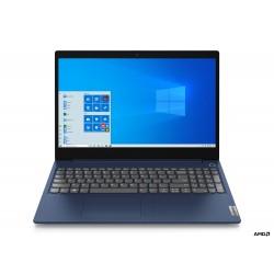 """Lenovo - IdeaPad 3 Portátil Azul 39,6 cm (15.6"""") 1920 x 1080 Pixeles AMD 3000 4 GB DDR4-SDRAM 128 GB SSD Wi-Fi 5 (802.11ac)"""