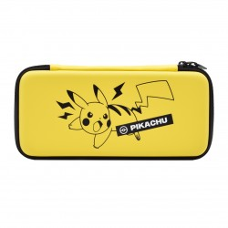 Hori - NSW-217U funda para consola portátil Funda protectora rígida Nintendo Negro, Amarillo
