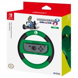 Hori - Mario Kart 8 Deluxe Racing Wheel Luigi, Nintendo Switch