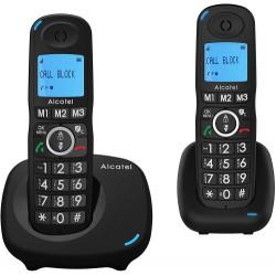 Alcatel - XL535 DUO Identificador de llamadas Negro
