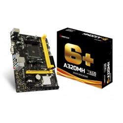 Biostar - A320MH placa base Zócalo AM4 micro ATX AMD A320