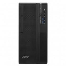 Acer - Veriton ES2735G G4930 Escritorio Intel® Celeron® G 4 GB DDR4-SDRAM 256 GB SSD FreeDOS PC Negro