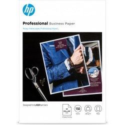 HP - Professional Laser Matte FSC Paper 200 gsm-150 sht/A4/210 x 297 mm papel para impresora de inyección de tinta A4 (210x297 m