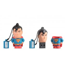 Tribe - DC comics Superman unidad flash USB 16 GB USB tipo A 2.0 Multicolor