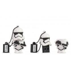 Tribe - 16GB STARWARS TFA Stormtrooper unidad flash USB USB tipo A 2.0 Negro, Blanco