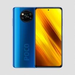"Xiaomi - Poco X3 NFC 16,9 cm (6.67"") 6 GB 64 GB Ranura híbrida Dual SIM 4G USB Tipo C Azul MIUI 12 5160 mAh"