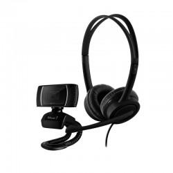 Trust - Doba cámara web 1280 x 720 Pixeles USB Negro