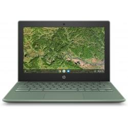 """HP - Chromebook 11A G8 EE 29,5 cm (11.6"""") 1366 x 768 Pixeles AMD A4 4 GB DDR4-SDRAM 32 GB eMMC Wi-Fi 5 (802.11ac) Chrome OS Verd"""