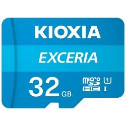 Kioxia - Exceria memoria flash 32 GB MicroSDHC Clase 10 UHS-I