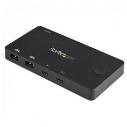 StarTech.com - SV211HDUC interruptor KVM Negro