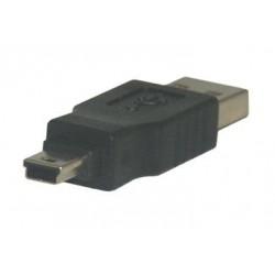 MCL - USB-AM/MU5B adaptador de cable USB A Mini USB B Negro