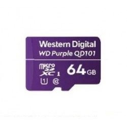 Western Digital - WD Purple SC QD101 memoria flash 64 GB MicroSDXC Clase 10